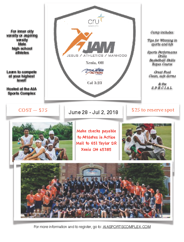 image for 2019 JAM Camp (Cru - AIA) Day 1
