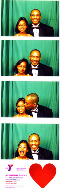 Father-Daughter Sweetheart Ball - Picture Booth