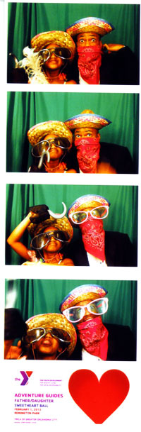 Father-Daughter Sweetheart Ball - Having Fun